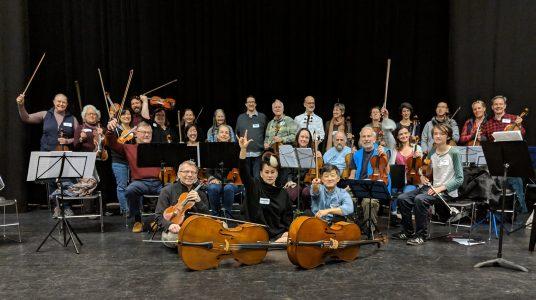 "Amateur Music Network workshop ""Discover Mendelssohn Octet with the New Esterházy Quartet"""