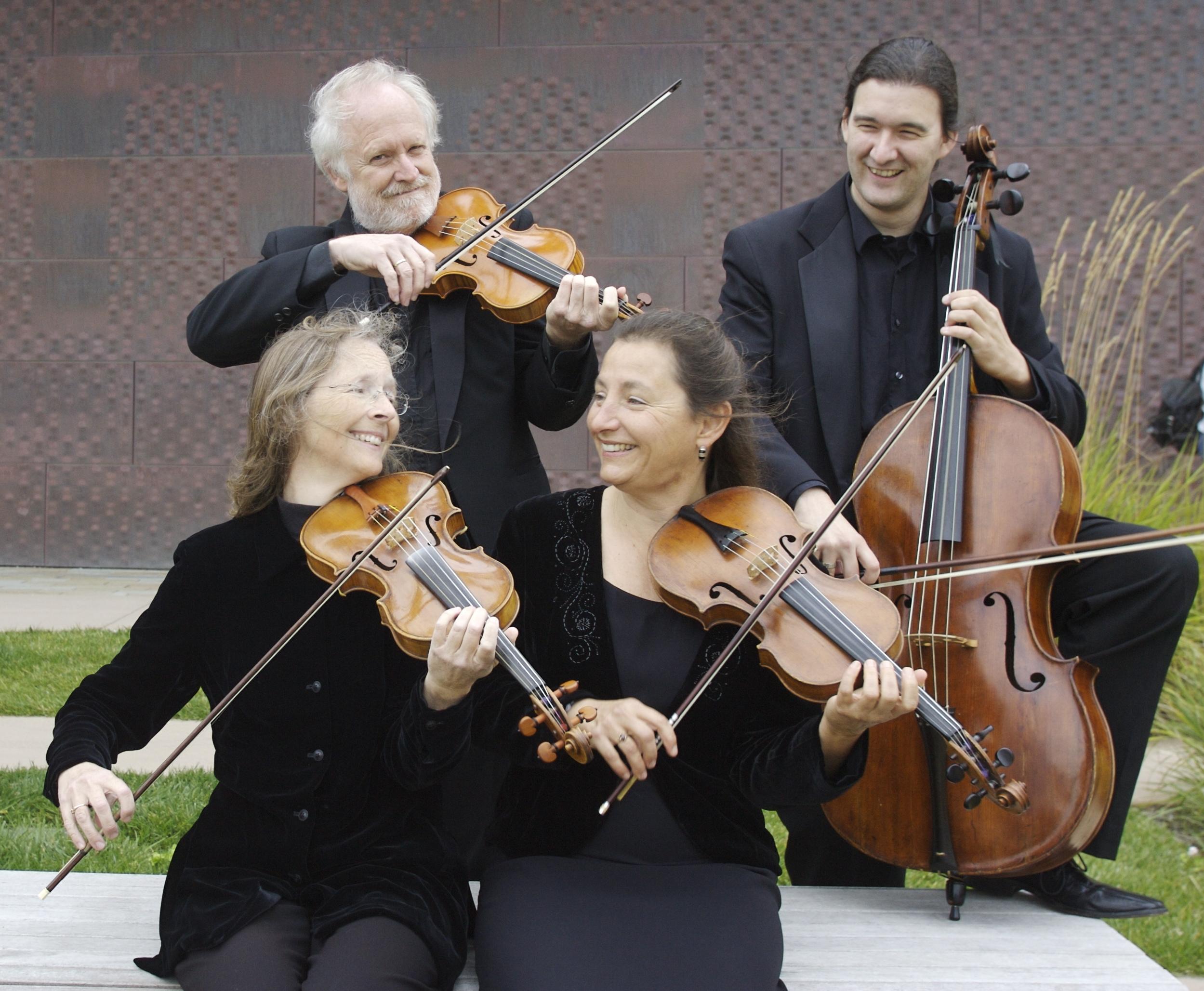 Amateur Music Network mentors the New Esterhazy Quartet