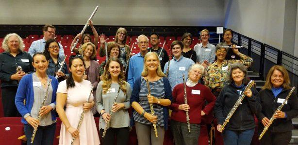 Flute workshop with Linda Lukas 2018