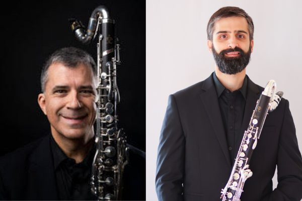 Amateur Music Network mentors Jerry Simas and Jeff Anderle